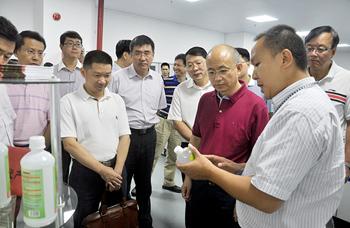中国科学院副院长张亚平莅临公司视察指导