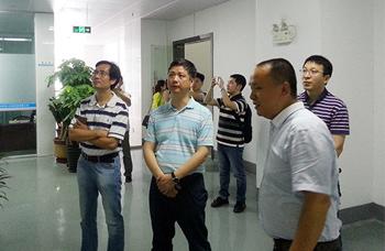 中国科学院广州分院副院长杨建华莅临公司视察指导