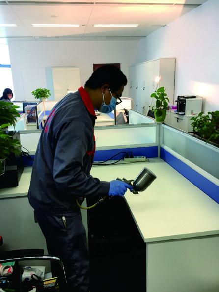 广电计量办公室空气净化治理